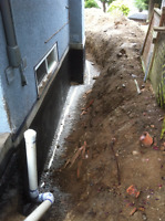 DRAINAGE, SEWER, SUMP, DRAIN-TILE – REPAIR AND INSTALLATION