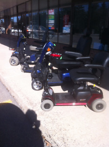 USED PRIDE wheelchairs