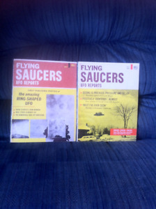 1967 DELL FLYING SAUCERS UFO REPORTS MAGAZINE!!!