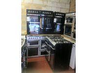 GAS/DUAL FUEL range cooker *NEW* 90cm-100cm warranty included warranty included Graded NEW. PRP £929