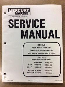 1995/96 SPORT JET SHOP MANUAL