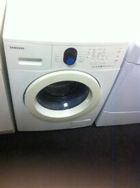 SAMSUNG WASHER COMES WITH A STORE WARRANTY WHITE £80 SAMSUNG WHITE-£80