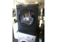 BLACK HOOVER 8KG TUMBLE DRYER CONDENSER VHC 781 XTB COMES WITH A FULLY WORKING STORE WARRANTY