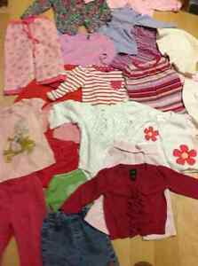 Toddler girl 12-18 months clothing bundle 22 pieces mostly GAP