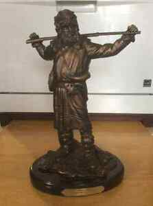Ducks Unlimited bronze trapper statues Strathcona County Edmonton Area image 5