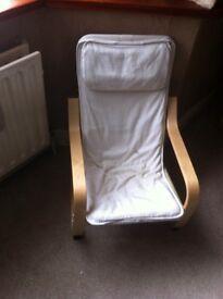 Kids Poang x2 chairs