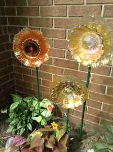 Beautiful upcycled totems  for home or garden