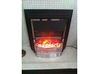 Dimplex electric fire heater modern as new