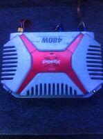 "480 watt sony amp and 10"" Jl audio"