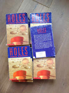 Holes by Louis Sachar set of 19.