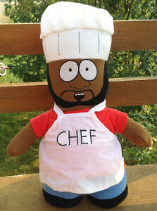 "SOUTH PARK CHEF 12"" PLUSH TOY DOLL FIGURE NANCO MWT Gatineau Ottawa / Gatineau Area image 1"