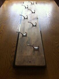 Driftwood Plank Coat Hook