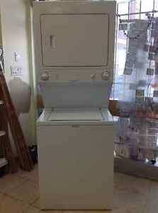 """An yr old 27"""" frigidaire laundry center with warranty for sale"""