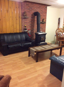 Furnished One Bedroom Basement Suite Ottawa East Available Now