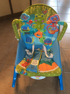 Chaise vibrante Fisher Price