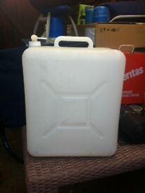 2 jerry cans building camping