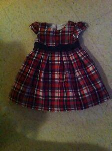 Christmas dress 12 months