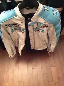 Woman's icon jacket and jeans