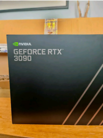 NVIDIA GeForce RTX 3090 Founders Edition 24GB Brand New