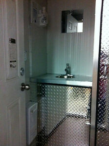 Portable Washrooms Showers Heated Air Conditioned Yukon image 7