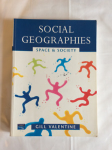 Geography books, starting at $5