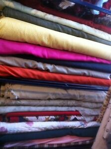 Fabric for sale, lots to choose from!