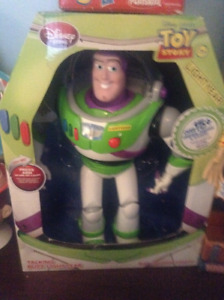 Toy Story Buzz Lightyear Talking Action Figure