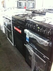 Brand New Grade-A Gas cookers & electric cookers on sale staring price £190 warranty included