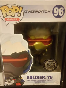 Blizzard Exlusive Soldier:76 (Golden) Funko Pop Windsor Region Ontario image 1
