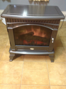 Dimplex Glossy Pewter Traditional Electric Fireplace $140.00
