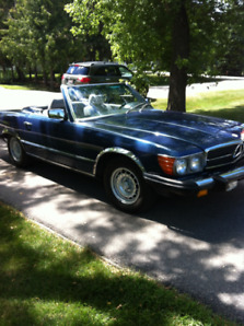 Affordable Classic 1985 Mercedes-Benz 380SL
