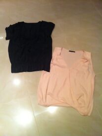 Two ladies size 12 tops