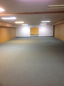 Basement Commercial Space for Lease