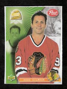 DOUG GILMOUR 1998 Kraft Post Cereal Hockey Card Chicago Toronto