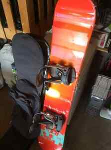 Rossignol Snowboard/bindings/carry bag... also have boots