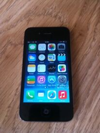 Phone 4 16gb - mint condition - EE network - comes with charger cable / case - can deliver local