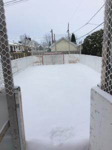 Très grande patinoire Négociable, doit partir