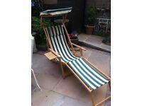 Grand deck chair