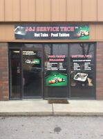Pool table movers and installers