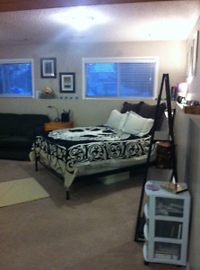 Furnished bachelor suite, utilities included