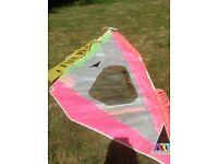 Art fun wave windsurf sail
