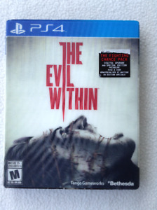 PS4 Game - The Evil within