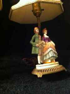 Two Antique Porcelain Lamps. Sarnia Sarnia Area image 5