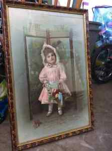 Little Queenie Framed Picture