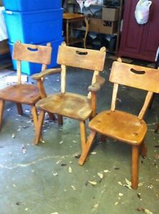 Imperial Loyalist Maple Chair Set  London Ontario image 2