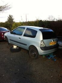 03 Renault Clio 1.5 DCI for breaking
