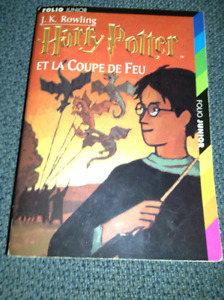 Harry potter and the goblet of fire in french for sale