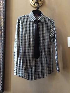 Boy's Shirt & Tie