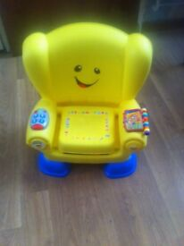 Fisher price laugh and learn toddler baby chair