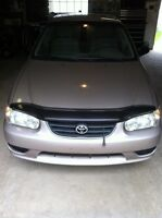 TOYOTA COROLLA SAFETIED WITH OPTIONS